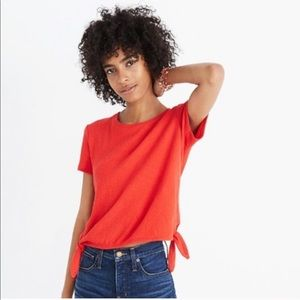 Madewell | Texture & Thread Modern Side Tie Top